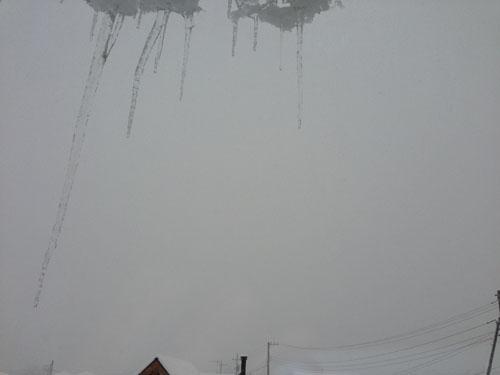 ひらいみも ブログ また雪が