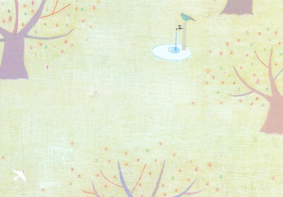 ひらいみもillustration水紋